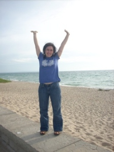 Me happy to be in Michigan.