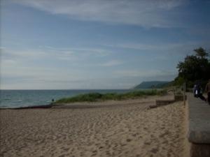Shore of Lake Michigan