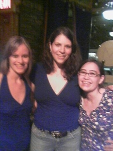 Angela, Kris Delmhorst, and Me