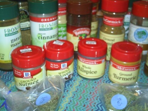 Spices and Herbs—out from the cupboard and into life