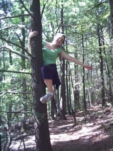 Tree-climber or PhD? Both!